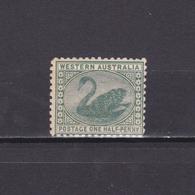 WESTERN AUSTRALIA 1885, SG# 94, Swan, Birds, Wmk Crown CA, MNH - 1854-1912 Western Australia