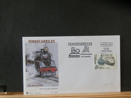 86/805   OBL.  ESPAGNE - Trains