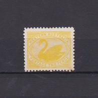 WESTERN AUSTRALIA 1905, SG# 140, Swan, Birds, Wmk Crown A, Perf. 12*12.5, MNH - 1854-1912 Western Australia