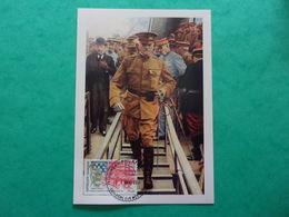 1er Guerre Mondiale Centenaire De L'entrée En Guerre Des Etats Unis Le 23 Juin 1917 Général Pershing - Guerre Mondiale (Première)