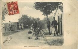BRIN - Le Pont Frontière. - Douane