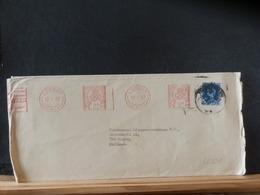 86/820 LETTRE 1957   TO HOLLAND - 1952-.... (Elizabeth II)
