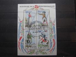 VEND BEAU BLOC DE FRANCE N° 10 , OBLITERE !!! - Sheetlets