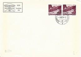 "244 - 57 - Enveloppe Avec Oblit Spéciale ""Bern Bundesfeier 1954"" - Marcofilia"