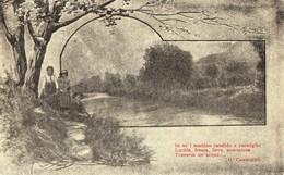 PAESAGGIO-BAMBINI-POESIA-CARDUCCI - Postkaarten