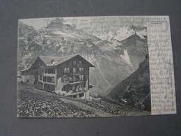 Gimmelwald Karte Aus Mürren Nach Sylt 1907 - LU Lucerne