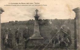 MAROC  SETTAT  Le Général D'Amade Visite Le Monument élevé Aux Morts Pour La France  ..... - Maroc