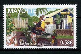MAYOTTE 2011  N° 240 **  Neuf MNH Superbe La Factrice En Quad Femme Women - Mayotte (1892-2011)