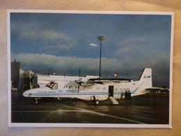 AIR VENDE  DORNIER 228  /   AIRLINE ISSUE / CARTE COMPAGNIE - 1946-....: Modern Era