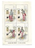 CHROMO..Etablissements HAUTON à SAINT NAZAIRE (44)...Histoire Sans Paroles. La Boite Aux Lettres..2 Scans - Cromos