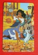 Télécarte Disney - Esmeralda/Le Bossu De Notre Dame - Disney