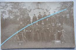 Photo ABL BEVERLO  Soldats Officiers Circa 1910 Armée Belge Belgische Leger - Guerra, Militari