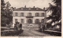 Meillac (35) - Le Château Du Breil. - Autres Communes