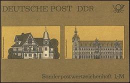SMHD 21 B Postämter 1985, DDF Auf 1.DS Gebrochenes DR In DDR, ** - Carnets