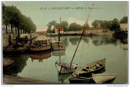 17 ROCHEFORT SUR MER -- Un Coin Du Bassin N°1 (couleurs) -- - Rochefort