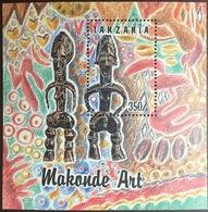 Tanzania 1992 Makonde Art Minisheet MNH - Tanzania (1964-...)