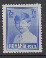 ROEMENIË - Michel - 1928 - Nr 354 Wz4 - MH* - 1918-1948 Ferdinand I., Charles II & Michel