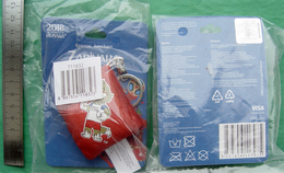 Russia 2018 World Cup FIFA Keychain Pillow Football ZABIVAKA - Habillement, Souvenirs & Autres
