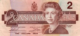 CANADA 2 DOLLARS 1986 P-94b   VF++ - Canada