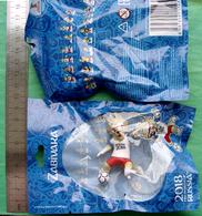 Russia 2018 World Cup FIFA  Football ZABIVAKA Plastic Figure - Habillement, Souvenirs & Autres