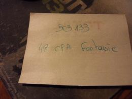 BOB133-LOT 48  CPA FANTAISIE    - Port Compris Pour France-Tous Les Scans Disponibles - Cartes Postales