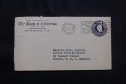 ETATS UNIS - Entier Postal Commerciale De New York Pour Londres En 1934 - L 56792 - 1921-40