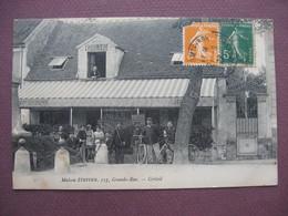 """CPA 94 CRETEIL Maison STEFFEN 117 Grande Rue  CAFE RESTAURANT """" A LA CHAUMIERE """" Top ANIMEE 1922 - Creteil"""