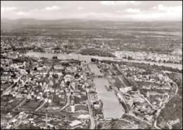 67 - Ludwigshafen -  Vue Vers Masmheim Et Le Rhin - France