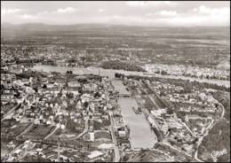 67 - Ludwigshafen -  Vue Vers Masmheim Et Le Rhin - Other Municipalities