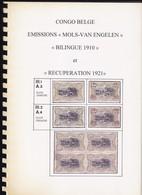 Congo Belge Emission Mols Van Engelen Bilingue 1910 Et Recuperation 1921  Tavano Leo 85  Pages - Colonies Et Bureaux à L'Étranger
