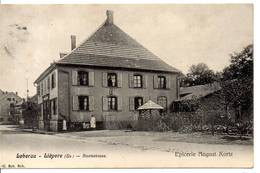 68 - LIEPVRE - LEBERAU - Staatsstrasse - Epicerie August Kortz (en L'état) - Lièpvre