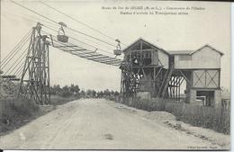 Mines De Fer De Segré-Concession De L'Oudon-Station D'Arrivée Du Transporteur Aérien. - Segre