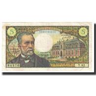 France, 5 Francs, Pasteur, 1969, 1969-09-04, TTB, Fayette:61.8, KM:146b - 1962-1997 ''Francs''