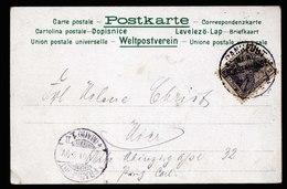A6651) DR Dekorative Orts-Karte V. Frankfurt Sachsenhausen 12.01.01 Mit Glitter / Flitter - Deutschland