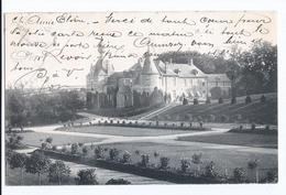 Lefdael Chäteau Kasteel  Oblitérée D'Anvers Départ Vers Lessines En 1904 - Bertem