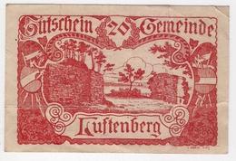 Österreich Austria Notgeld 20 HELLER FS570 LUFTENBERG /199M/ - Autriche