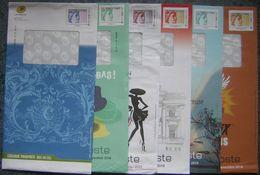 PAP  Prêt à Poster Oblitérés, Lot 88 PAP LA POSTE Différents, Ou N° De Lot -  Type MTAM - Mon Timbre à Moi - - Entiers Postaux