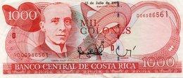 COSTA RICA 1000 COLONES 1997  P-264a XF+++ - Costa Rica