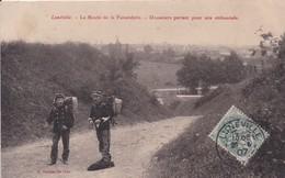 LUNEVILLE : (54) La Route De La Faisanderie. Douaniers Partant Pour Une Embuscade - Luneville