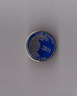 Pin's Informatique / Club Sportif IBM France Montpellier Diamètre: 2 Cm - Informatique