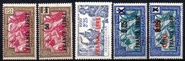 Col17  Colonie Madagascar N° 236 à 241 France Libre  Neuf XX MNH  Cote : 31,00€ - Madagascar (1889-1960)