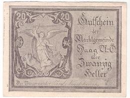Österreich Austria Notgeld 20 HELLER FS318 HAAG /197M/ - Autriche
