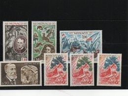 MONACO 1972 Yvert 867-873 NEUF** MNH Cote : 6,80 Euros - Unused Stamps