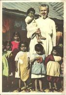 """Missionario Con Bambine Africane, Ediz. """"Missioni Estere Cappuccini"""" Milano - Altri"""