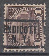 USA Precancel Vorausentwertung Preo, Locals New York, Endicott 571-204 - Vereinigte Staaten