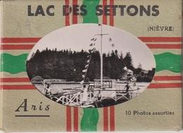 CPAB 289 - LAC DES SETTONS - 10 PHOTOS ASSORTIES - ARIS - Autres Communes