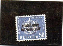 CG23 - 1962 Svizzera - Lotta Alla Malaria - Dienstzegels