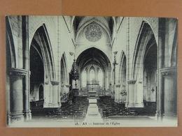 Ay Intérieur De L'Eglise - Ay En Champagne
