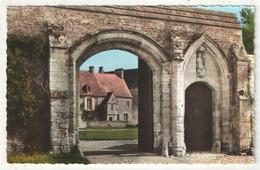 14 - LONGUES-SUR-MER - Abbaye Sainte-Marie - Porche D'entrée - Le Goubey 62-1575 - France