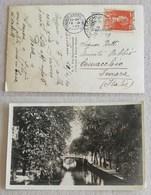 Cartolina Illustrata Amsterdam-Comacchio (FE, Ita) - 16/04/1930 - Periodo 1891 – 1948 (Wilhelmina)